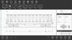 one of the best windows app for 2d cad and technical drawing
