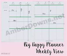 Planner Dimensions by Happy Planner Dimensions Amberdowns Net