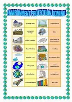 nature protection worksheets 15140 environment protection 3 domino esl worksheet by veronika74