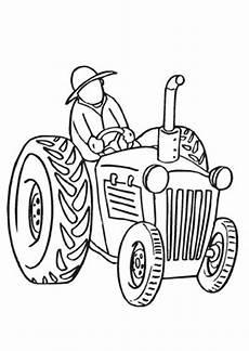 Malvorlagen Bauernhof Traktor Ausmalbilder Bauer Mit Traktor Bauernhof Malvorlagen