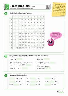 5 times tables division facts worksheet ks1 number teaching resources