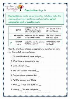 punctuation worksheets grade 4 with answers 20780 grade 3 grammar topic 30 punctuation worksheets lets knowledge