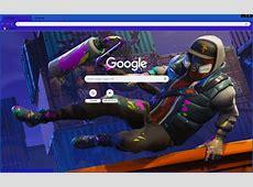 Fortnite Abstrakt Chrome Theme   ThemeBeta