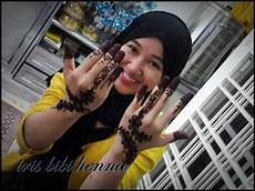Inai Pengantin Ukiran Henna Dan Make Up February 2012