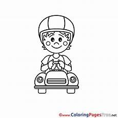 Driver Coloring Driver Coloring Pages