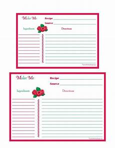 5x7 recipe card template free 17 best images about printable recipe cards on