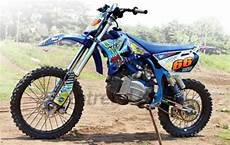 Modifikasi Trail Fiz R by Modifikasi Gambar Yamaha Fiz R Trail Grasstrack Adventure