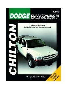 free online auto service manuals 2004 dodge dakota club interior lighting 2001 2004 dodge durango dakota chilton s total car care manual