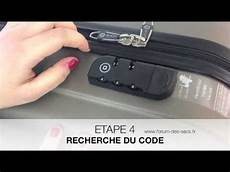 comment ouvrir une valise à code ouvrir valise code oubli 233