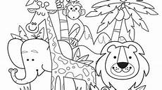 groups of animals coloring pages 17000 day 15 bringing our printable summer jungle animals to print out and colour in on a rainy
