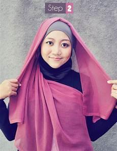 Cara Memakai Jilbab Segi Empat Modis Dan Simple Media