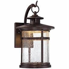 callaway rustic bronze 11 quot high led outdoor wall light 5x185 lsplus com