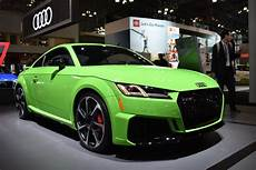 updated 2019 audi tt rs to debut at 2019 new york auto