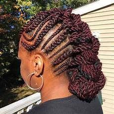 Braided Mohawk Hairstyles For