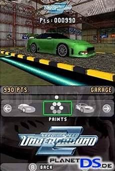 need for speed underground 2 nintendo ds spiel