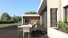 toit terrasse beton maison contemporaine d architecte b 233 ton bois composite 224