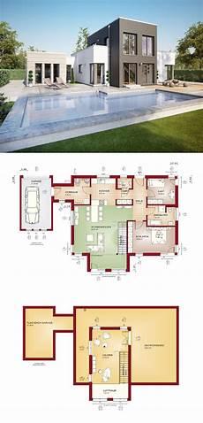 grundriss bungalow modern bungalow evolution 100 v9 grundriss bien zenker modern