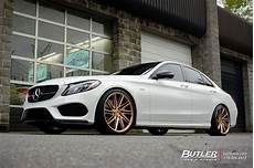 mercedes classe c 2011 79398 mercedes c class with 20in vossen vps 307t wheels