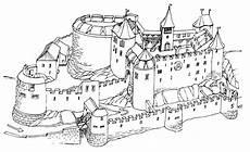 Ausmalbild Ritterburg Ritterburg Malvorlagen Kostenlos Zum Ausdrucken