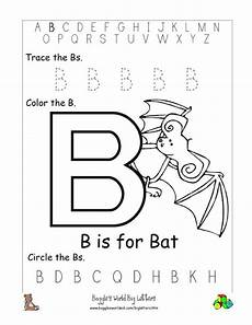 letter b worksheets in 23995 letter b alphabet worksheets