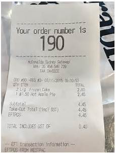 mcdonald s customer confused after 1 50 apple pie cost him 2 45 daily mail online