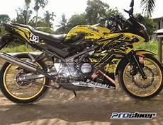 150 Rr Modif by Kawasaki 150 Rr Modifikasi Motor