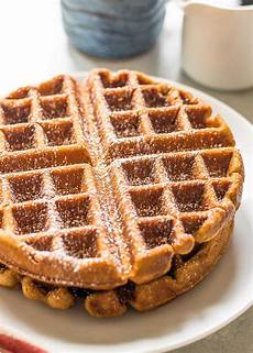 gingerbread waffles recipe simplyrecipes com