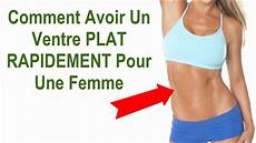 Exercice Ventre Plat Femme Rapidement