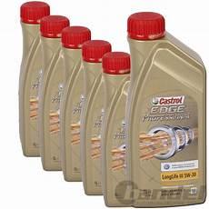 motoröl 5w30 longlife 6x1 liter castrol edge professional longlife iii 5w 30 5w30