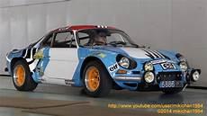 Works Alpine A110 4 Rally Car