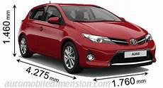 Dimensions Des Voitures Toyota Longueur X Largeur X Hauteur
