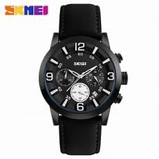 Skmei Jam Tangan Analog skmei jam tangan analog pria 9147cl black white