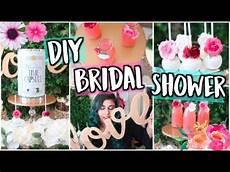 throw a diy pinterest bridal shower decor treats gift ideas youtube
