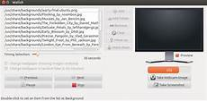 time as live wallpaper ubuntu wallch custom wallpaper slideshow or live earth on