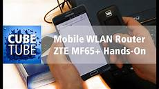 mobile wlan router zte mf65 on test hd