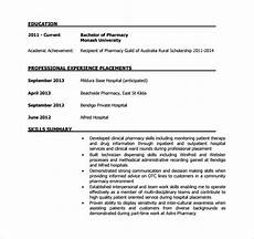 pharmacist resume 10 download documents in pdf sle templates