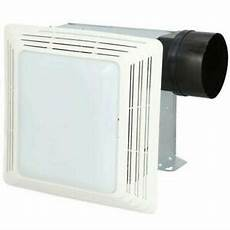 50 cfm broan ventilation fan light combo bathroom exhaust celing vent home quiet 26715000425 ebay