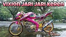 Modifikasi Vixion 2018 Jari Jari by Review Vijar Warna Pink Siap Kontes Vixion Jari Jari