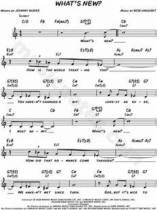 bob haggart quot what s new quot sheet music leadsheet in c major transposable download print