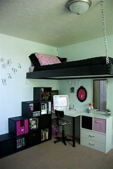 hochbetten für kleine zimmer hochbett raumsparende l 246 sung traumzimmer jugendzimmer