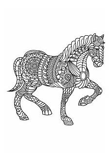 horses free printable coloring pages for