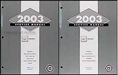 auto repair manual online 2003 oldsmobile aurora parking system 2003 olds aurora repair shop manual original 2 volume set