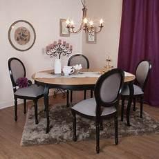 table de salle à manger ronde avec rallonge table 224 manger 224 rallonge ronde en bois l120cm avec