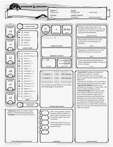venger s old school gaming blog d d 5e character sheet