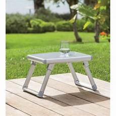 Hesperide Table D Appoint Pliante D Ext 233 Rieur Gris