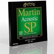 Guitar Strings Acoustic Light Martin 12 Strings