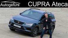 seat cupra ateca seat ateca cupra becomes new cupra ateca review