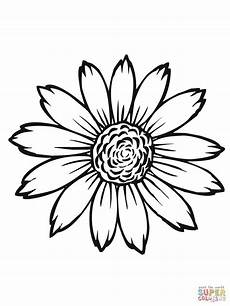 sunflower flower coloring pages printable with images