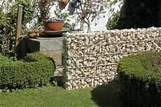 Sichtschutz Günstige Lösung - anleitung zaun oder sichtschutz mit gabionen bauen diy info