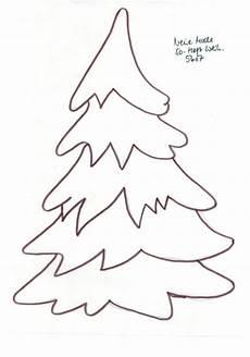 Malvorlage Weihnachtsbaum Einfach Tanne 7 Bastelvorlagen Weihnachten Fensterdeko